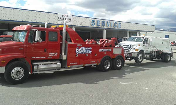 Wrecker Tows anywhere or to our